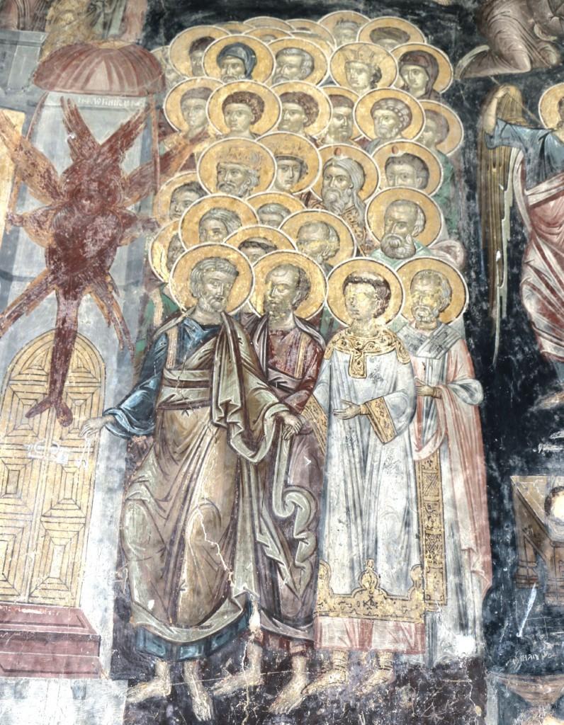 Melnik6 frescoes Rozhen monastery