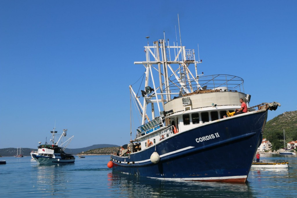 Slano4 fishing boats