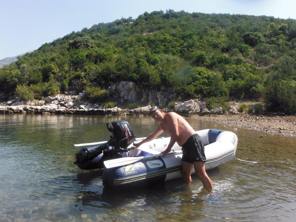 snorkeling2 Slano bay