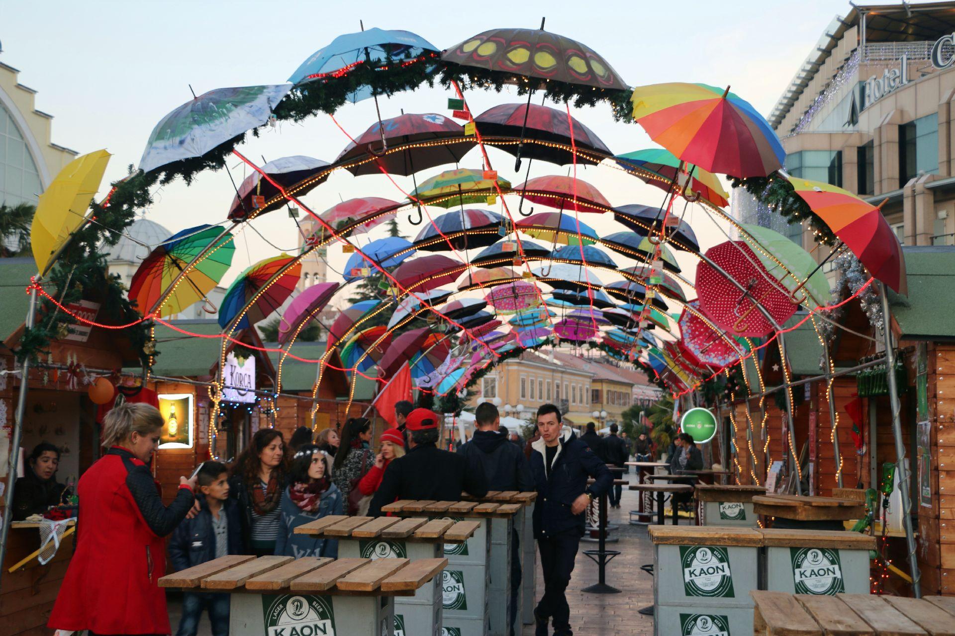 Shkodra Christmas bazaar