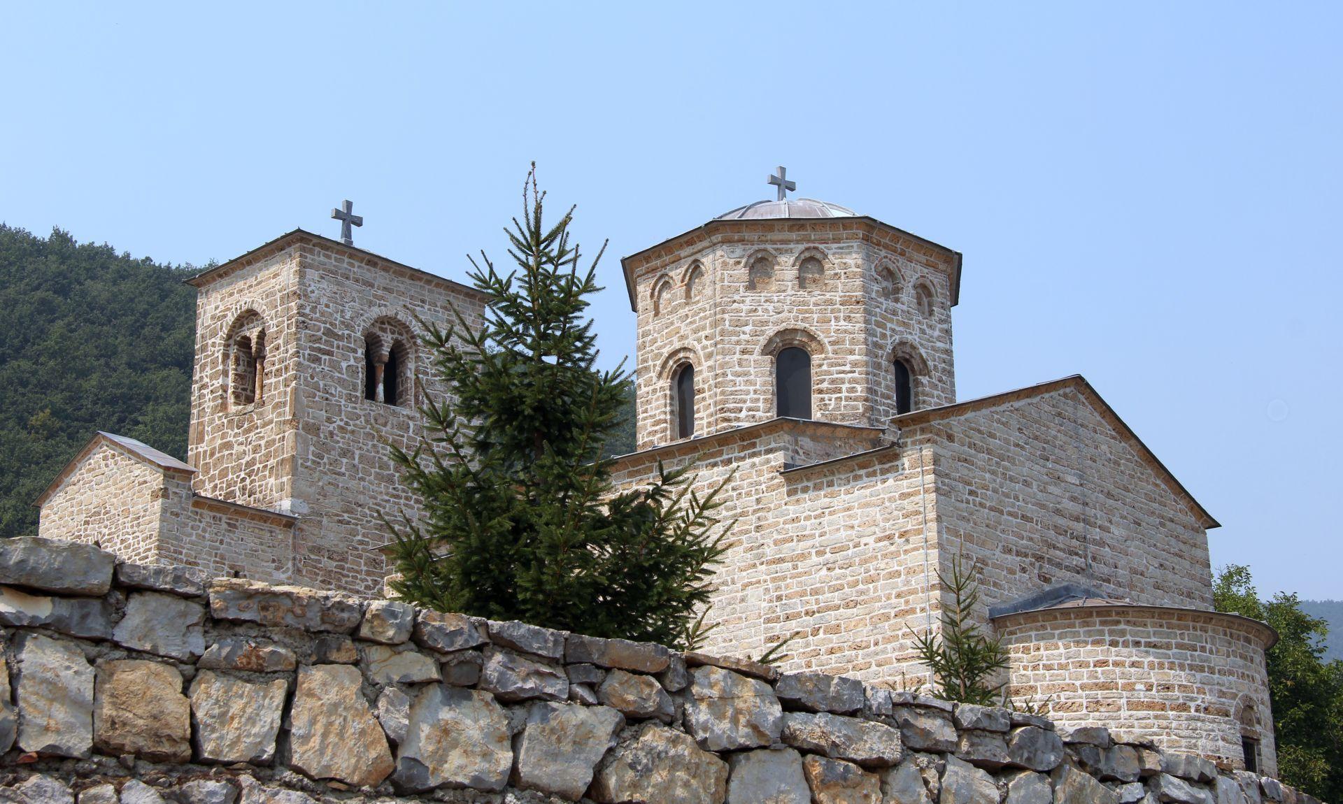Djurdjevi Stupovi monastery1