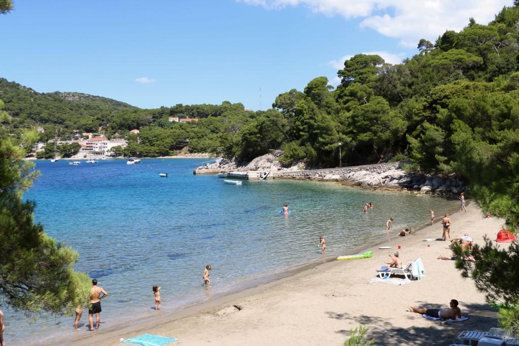 Mljet6a Saplunara beach