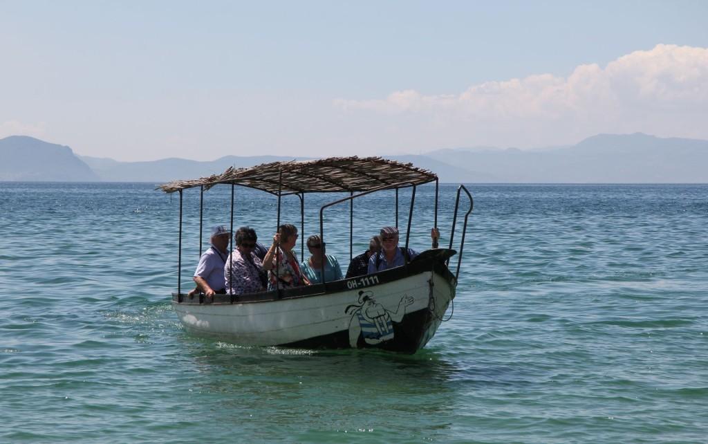 Ohrid3 boat tour