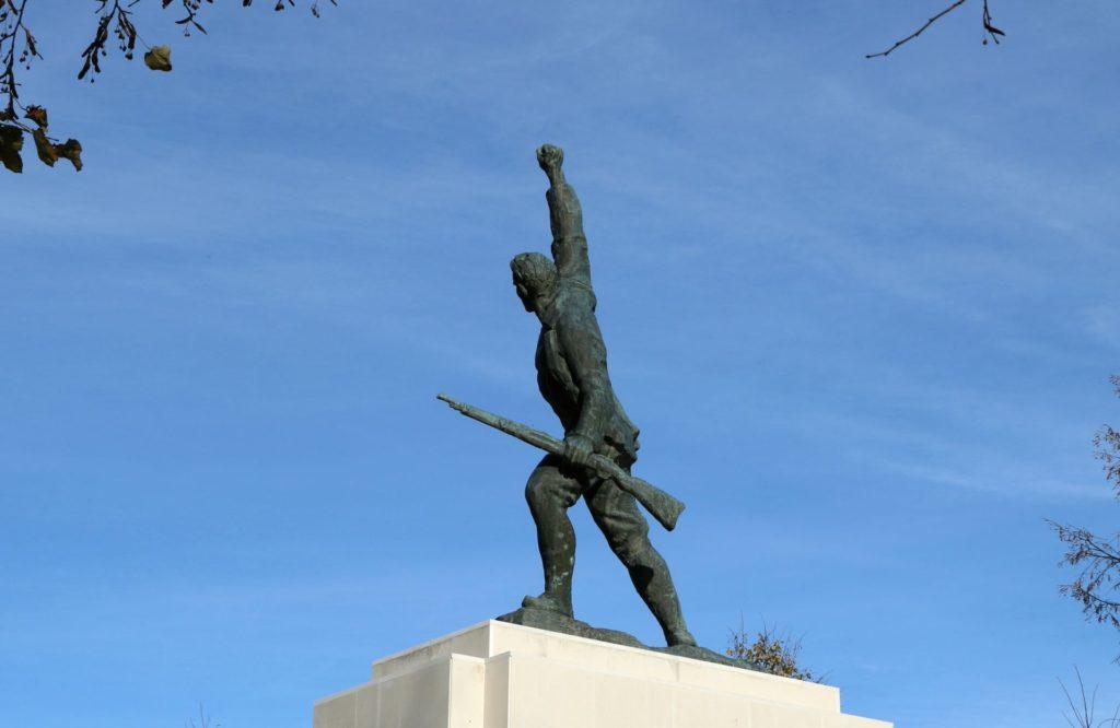 Ljubotinj war monument