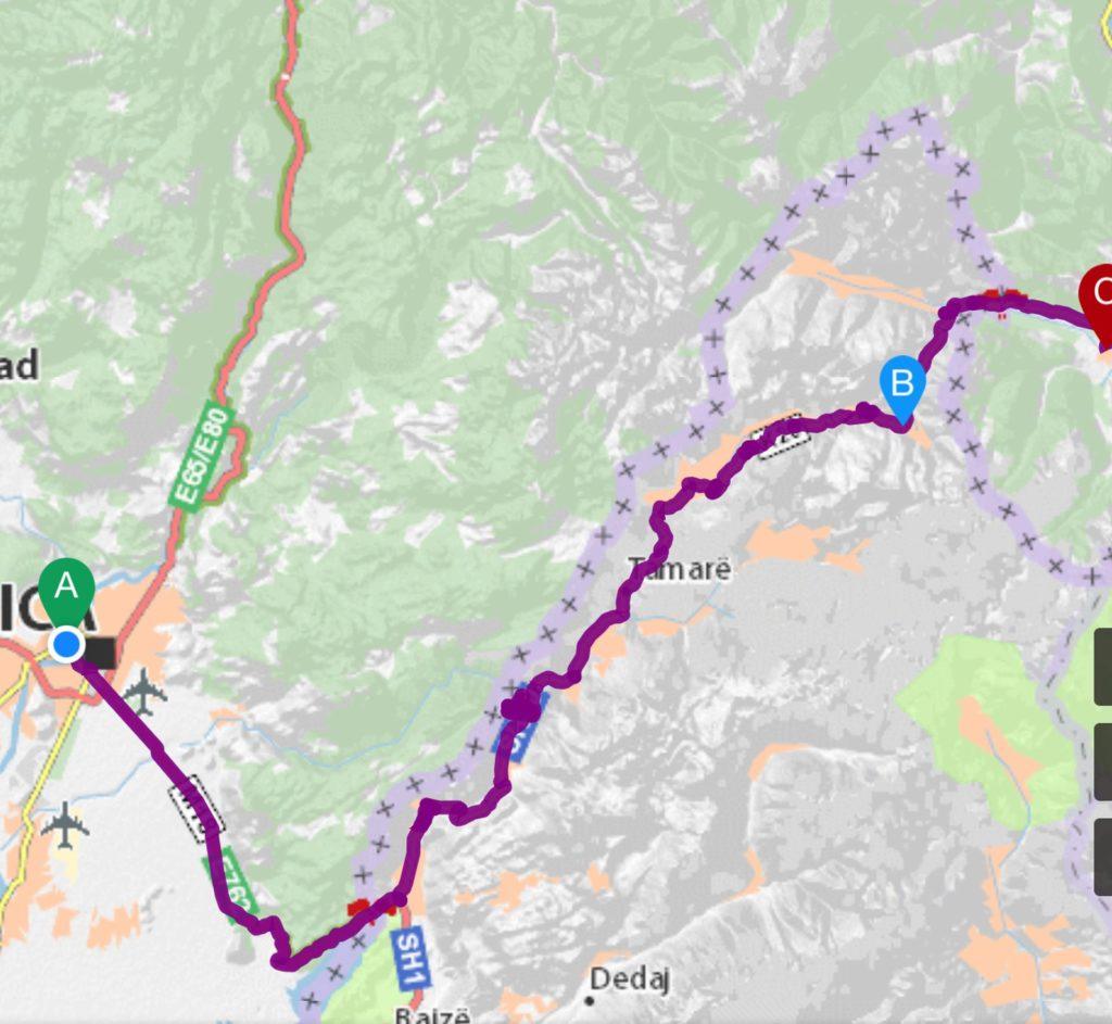 Map 2 - 96 km