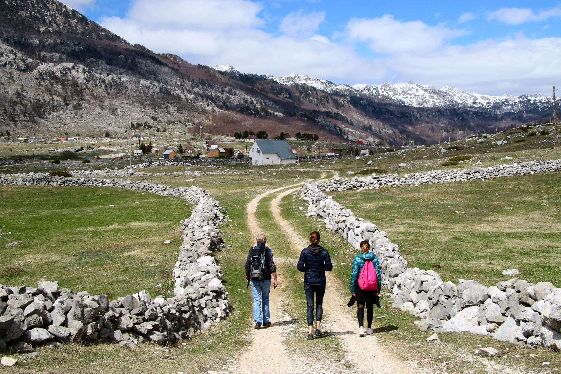 trail to Grlo Sokolovo