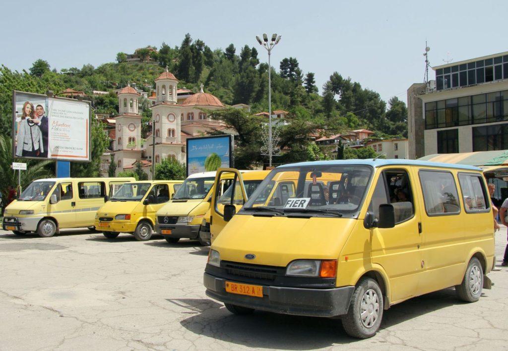 roads of Albania7 furgons