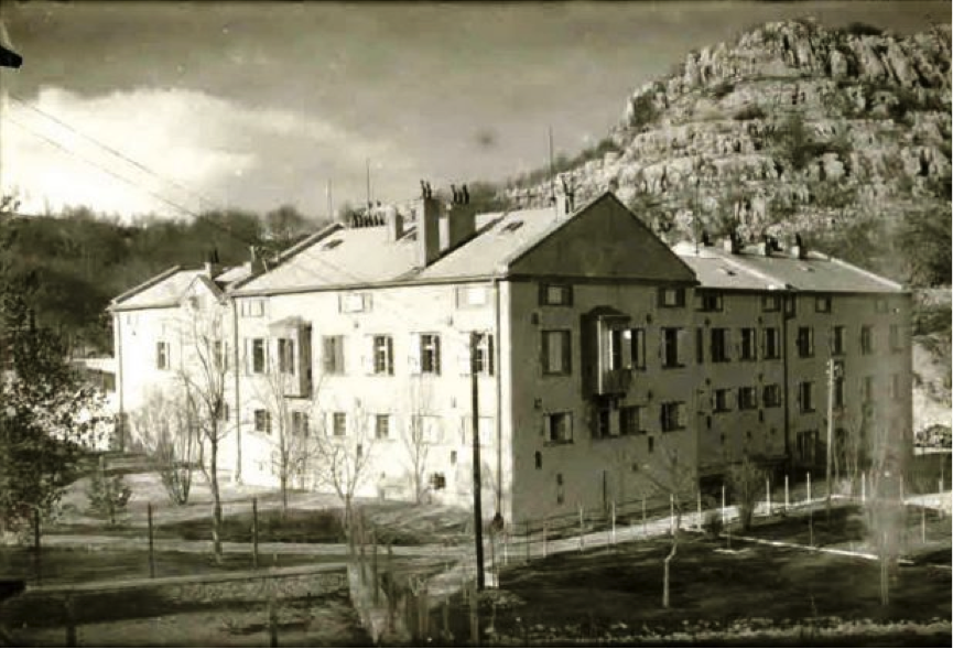 Austro Hungarian army building in Crkvice