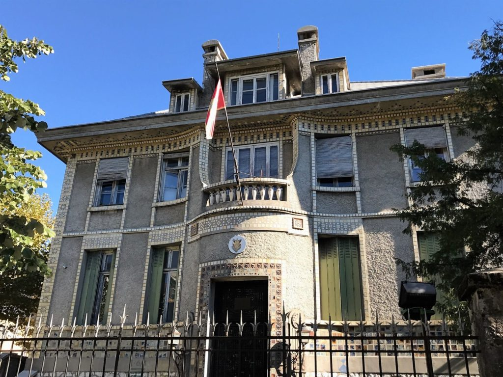 Cetinje French embassy