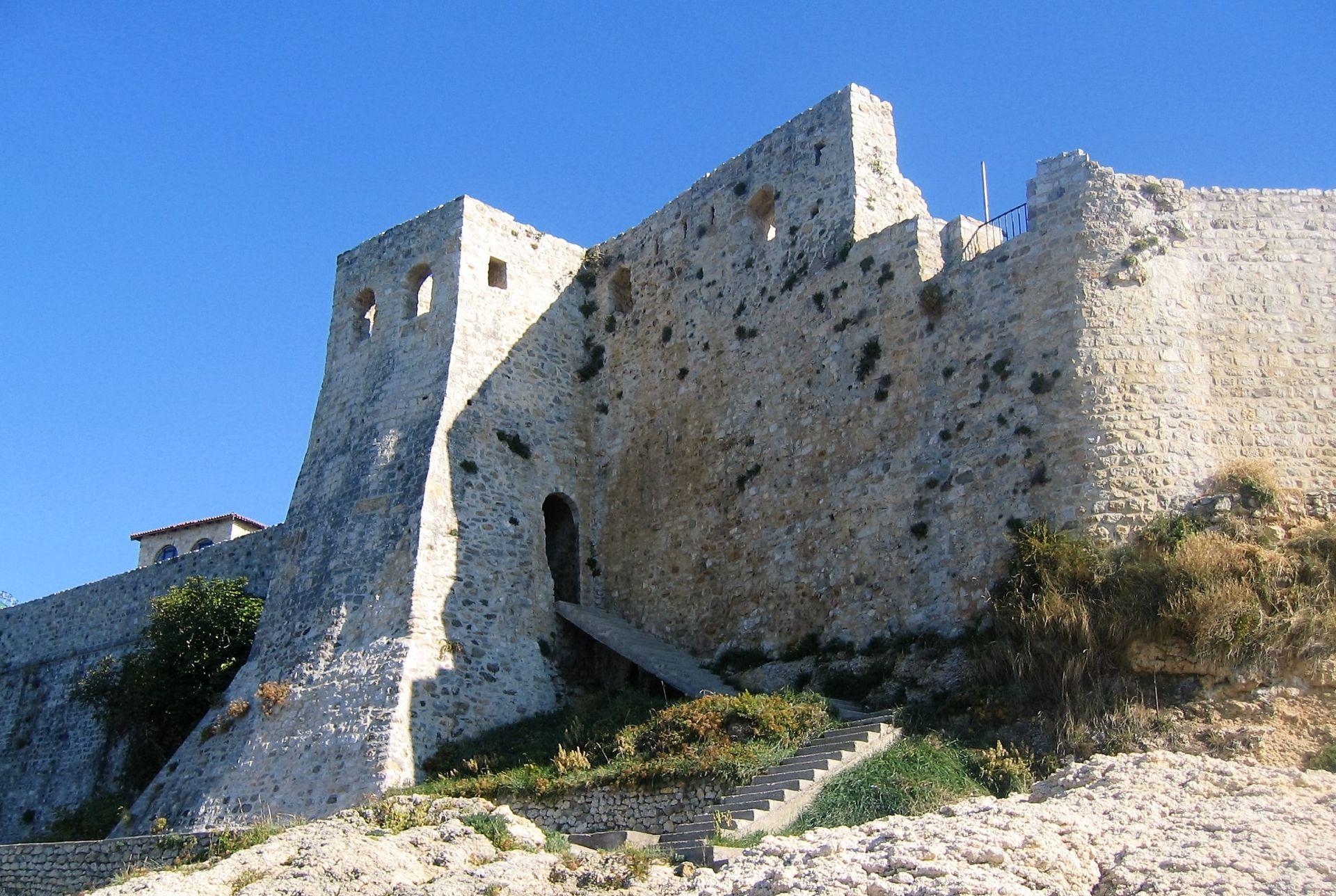Ulcinj city walls