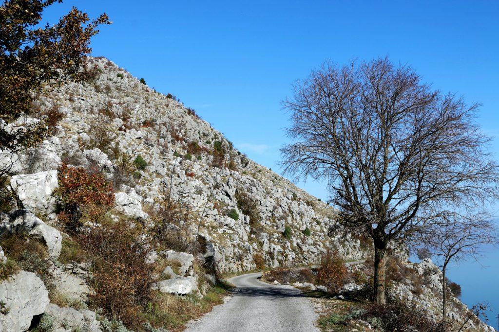 Krajina1b road Virpazar-Murići