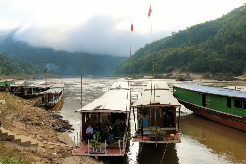 2 Mekong slow boats