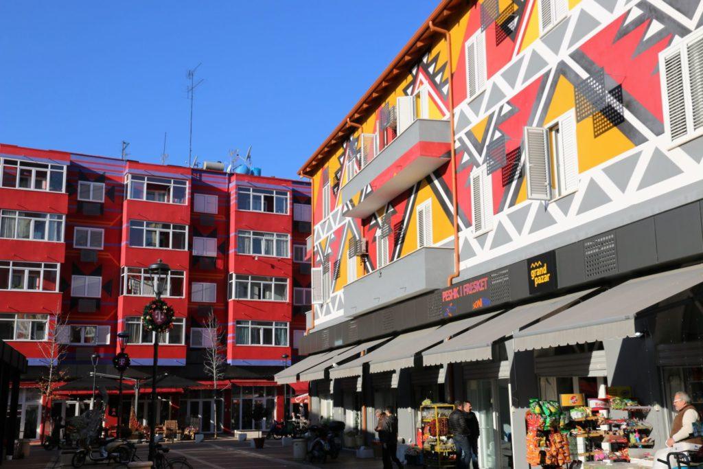 6 Tirana building