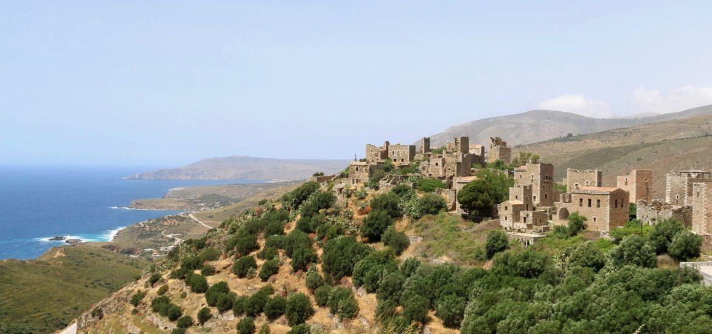 Vathia Peloponnese