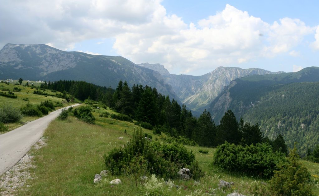 along the Sušica Canyon