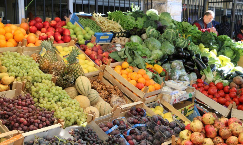Kotor green market
