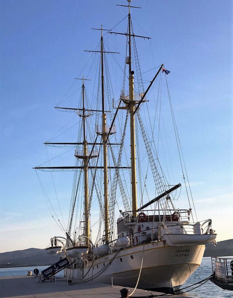 Training ship Jadran Tivat