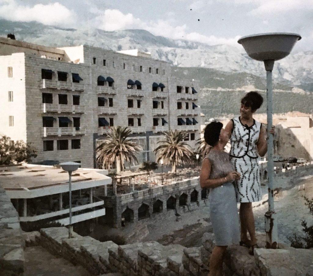 Budva hotel Avala 1970s