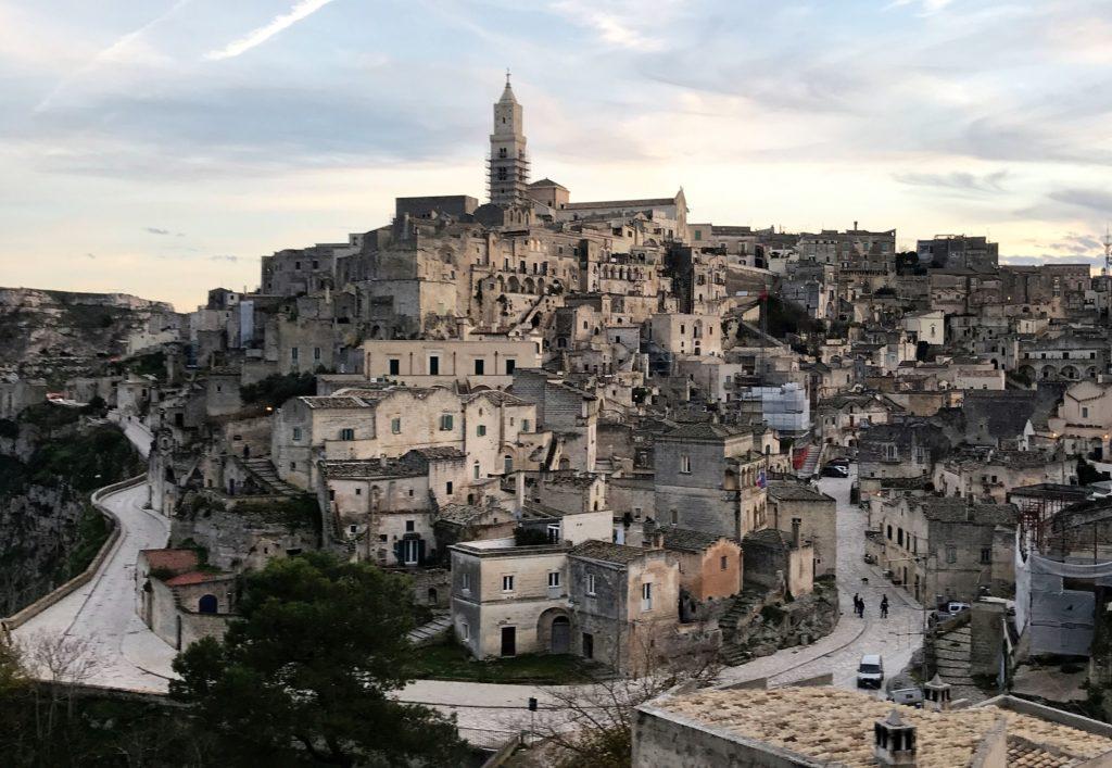 Matera ancient town