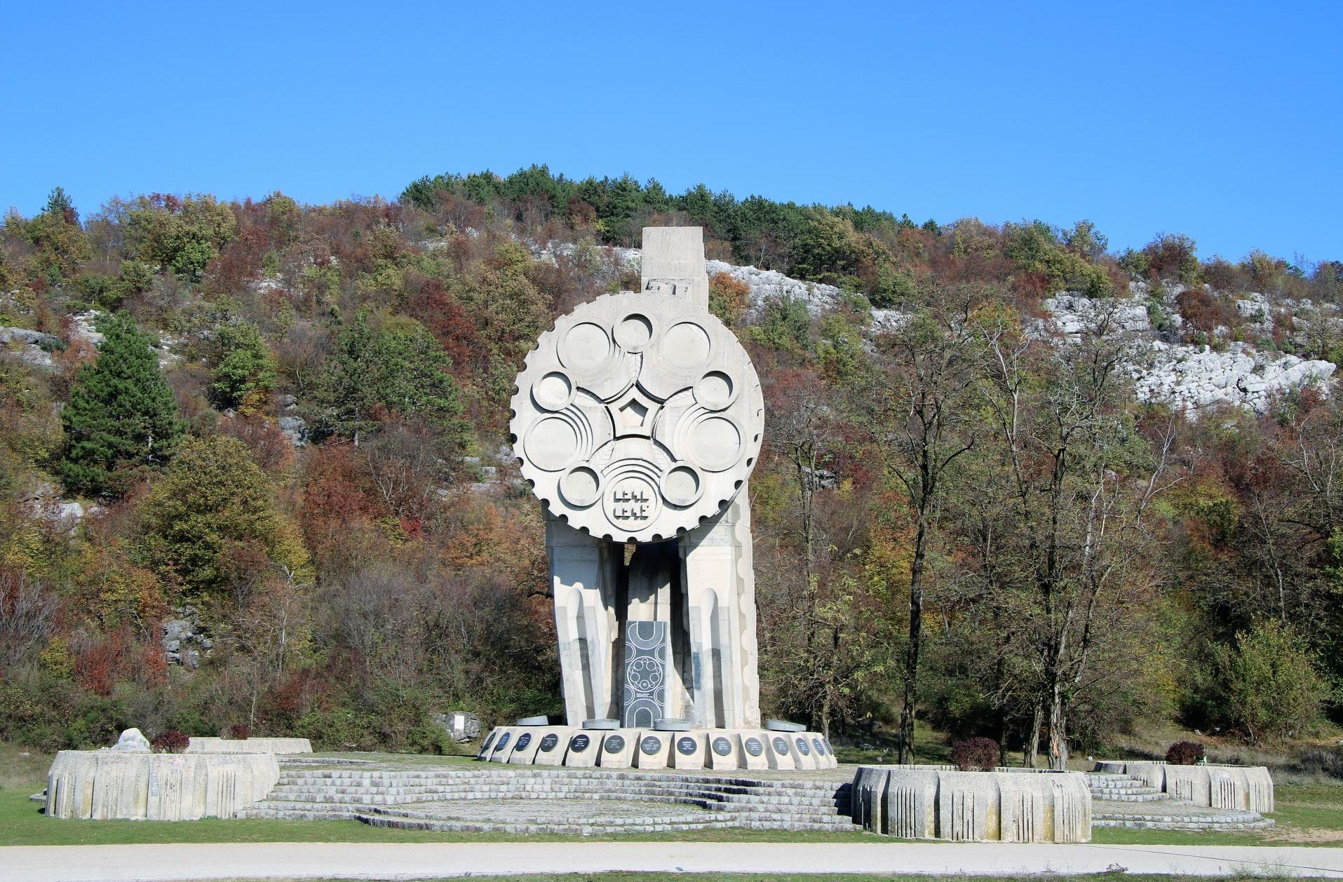 war monument Niksic