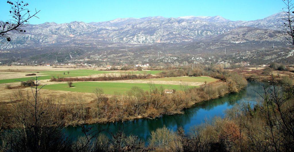 Zeta river Bjelopavlici