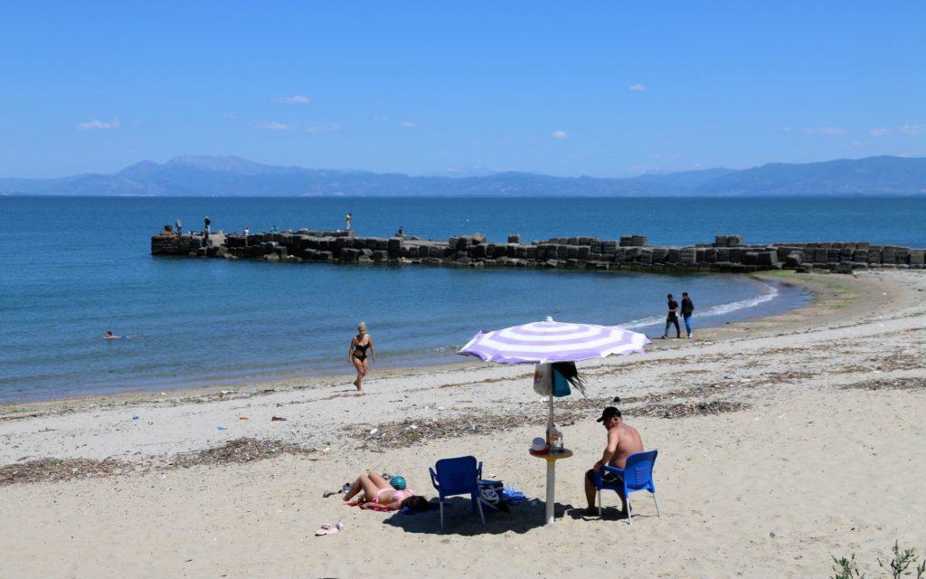 Cape of Rodon beach