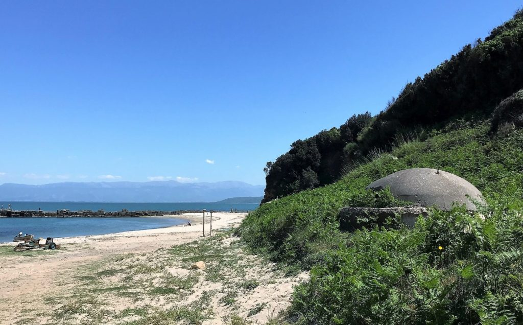 Cape of Rodon bunkers