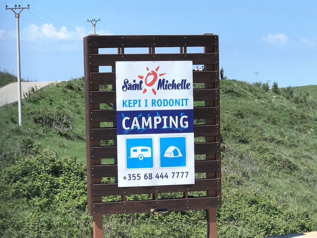 Cape of Rodon camping