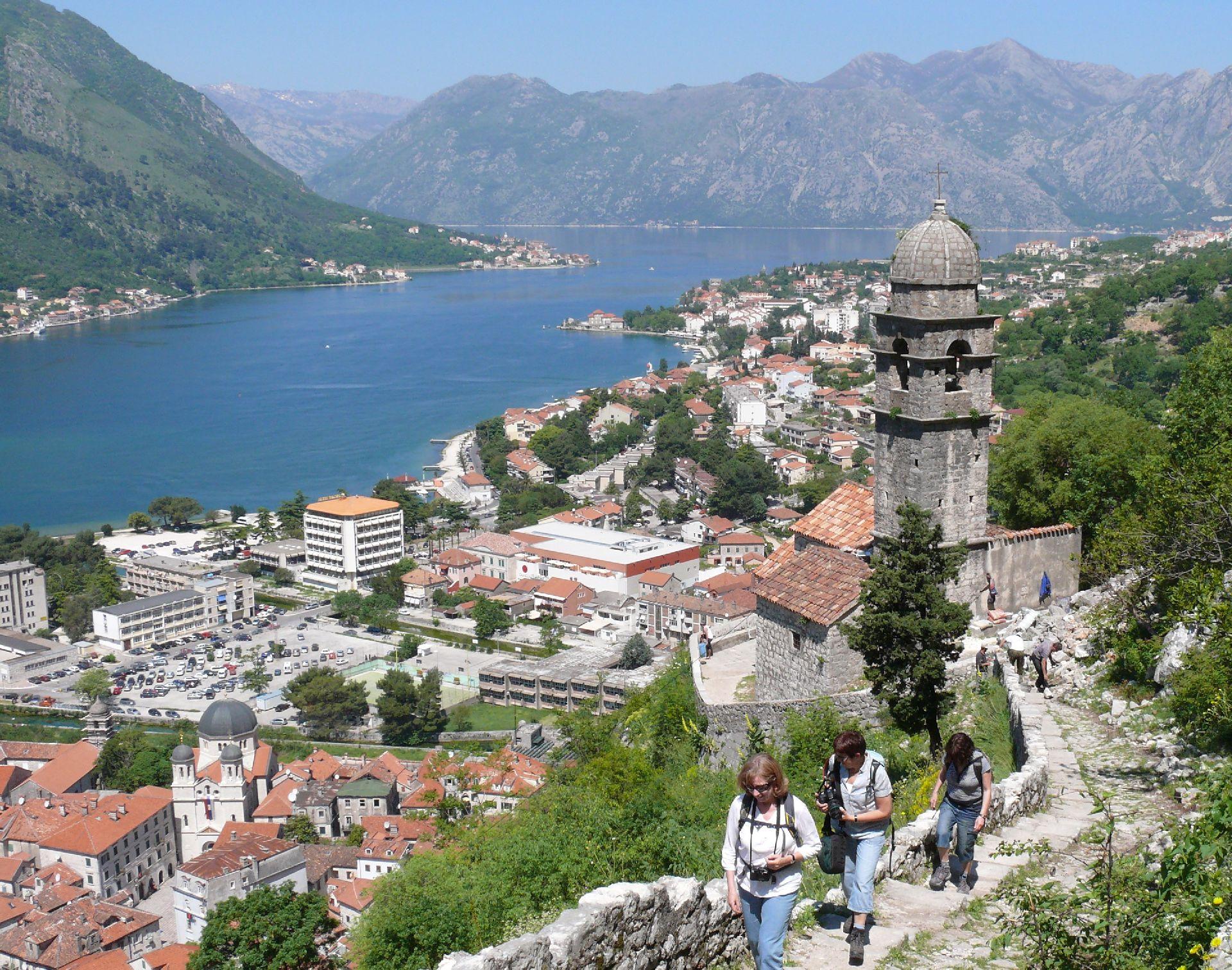 """Résultat de recherche d'images pour """"The hike to St. John's Fortress montenegro"""""""